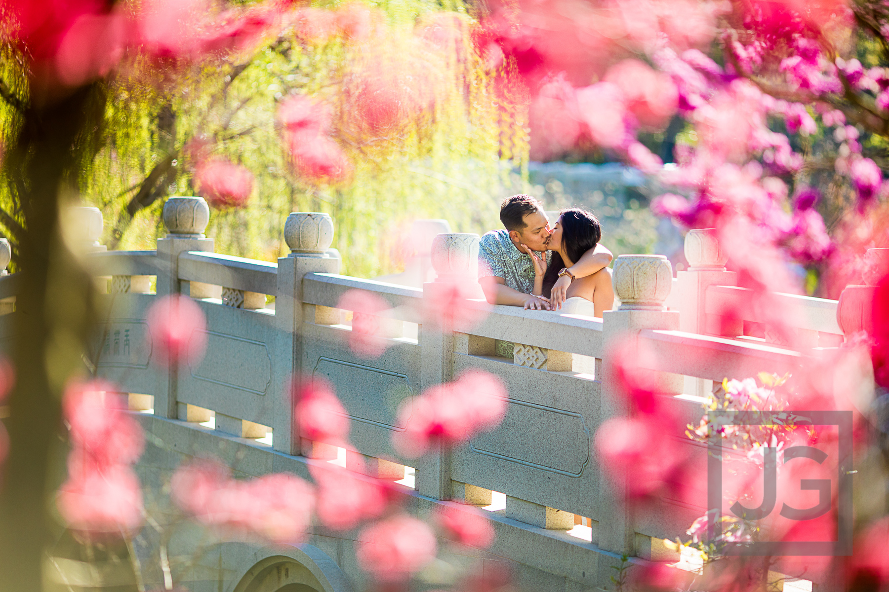 Huntington Library Engagement Photography | Nicole + Phillip