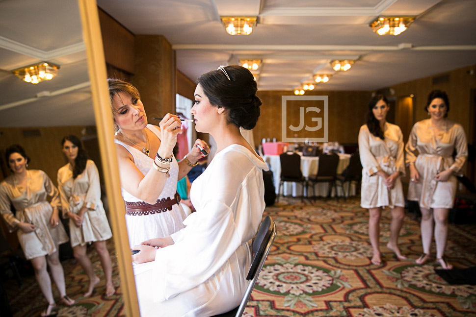 Fairmont Hotel Wedding Preparation