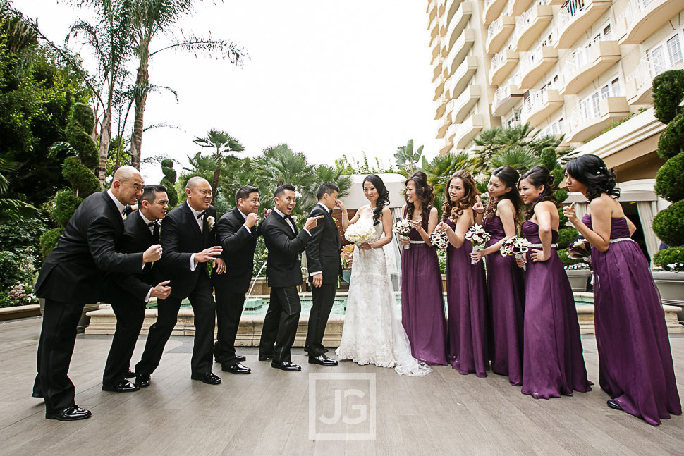 Bridal Party at the Four Seasons
