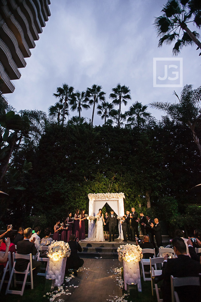 Four Seasons Wedding Ceremony
