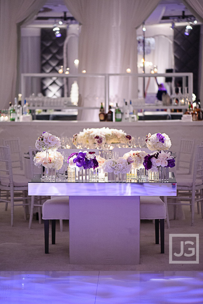 Four Seasons Wedding Reception Tables