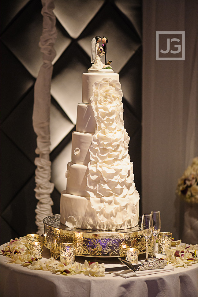 Four Seasons Wedding Cake