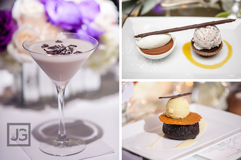 Desserts at the Four Seasons