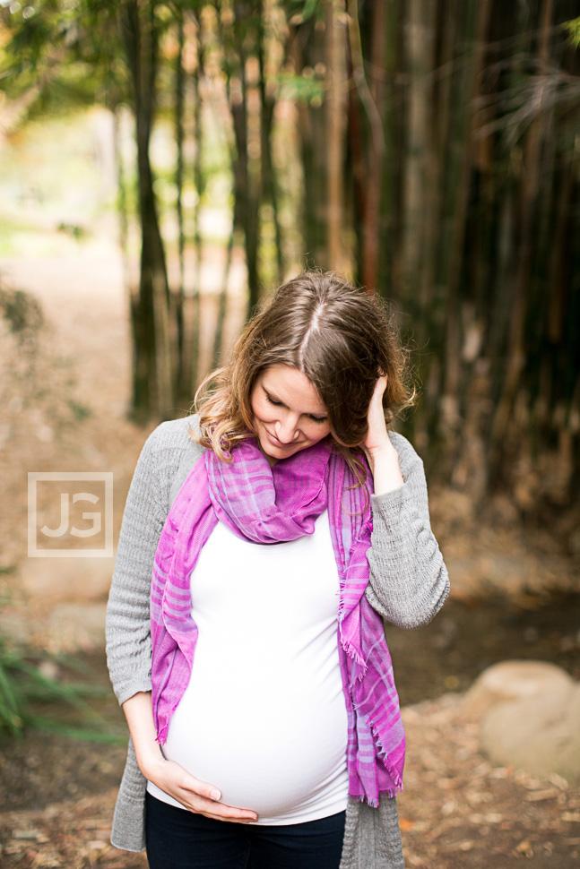 Fullerton Arboretum Maternity Photography