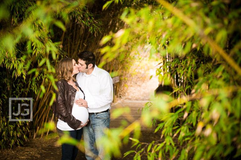 Fullerton Arboretum Maternity Photography Orange County | Leah + Hakan