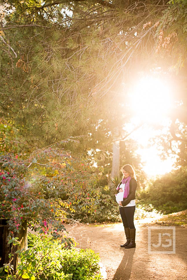 Maternity Photography Fullerton Arboretum