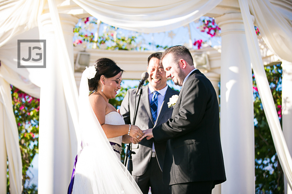 Hilton San Gabriel Wedding Ceremony