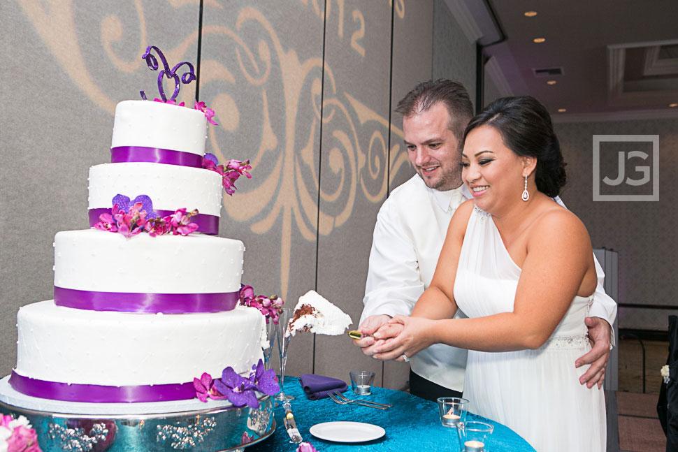 Wedding Reception at the Hilton San Gabriel