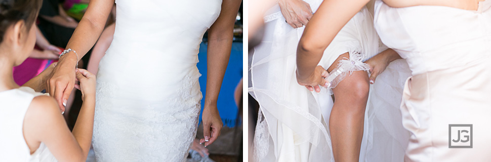 Hotel Maya Wedding Preparation Wedding Dress