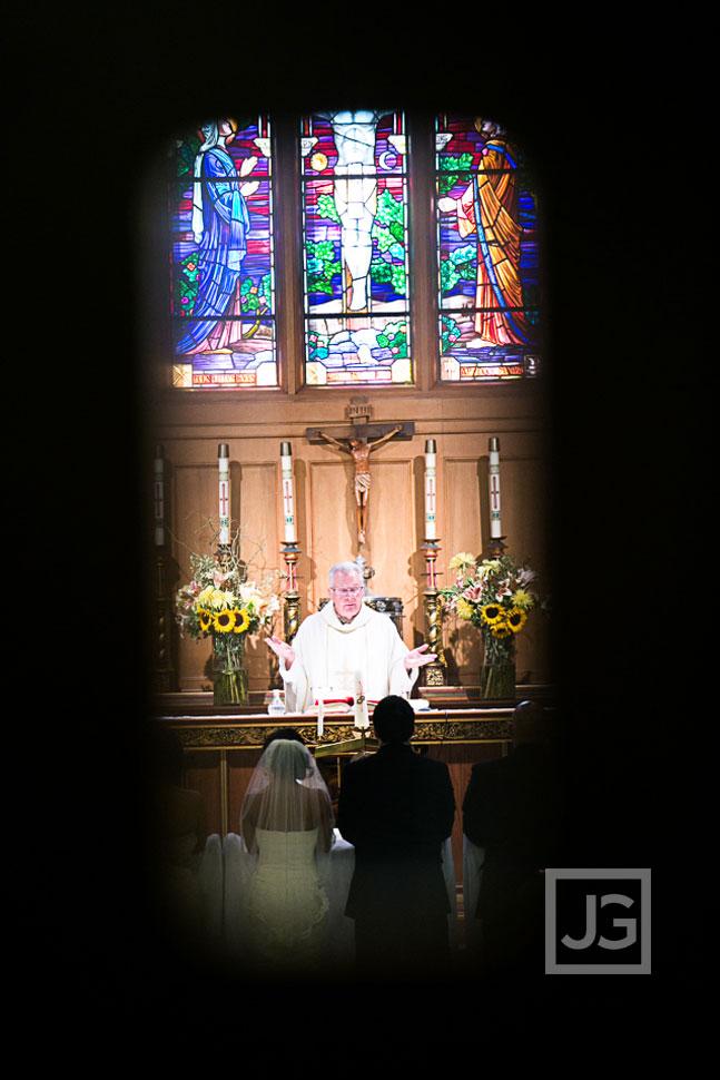St. Bartholomew Catholic Church Wedding Ceremony