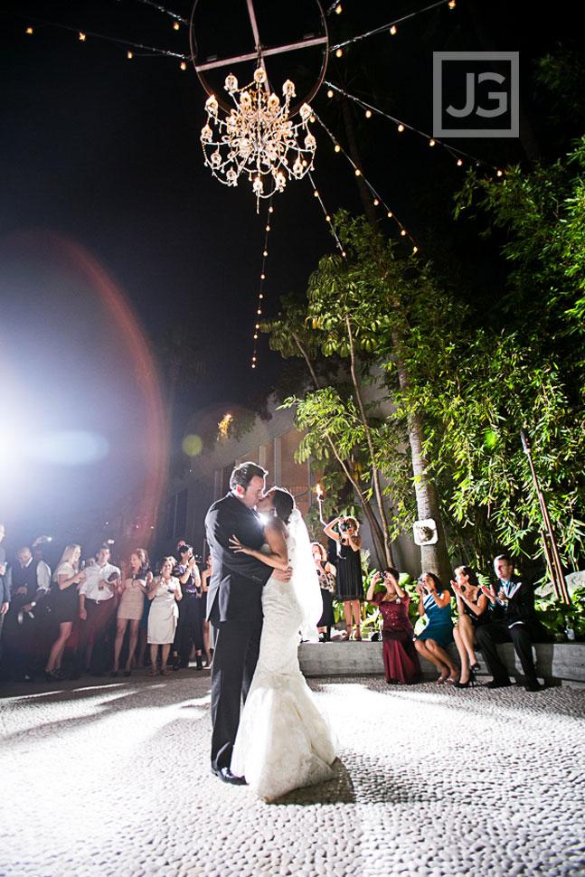 Hotel Maya Wedding Reception First Dance