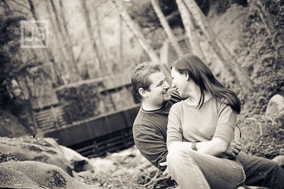 Chantry Flats Engagement Photography