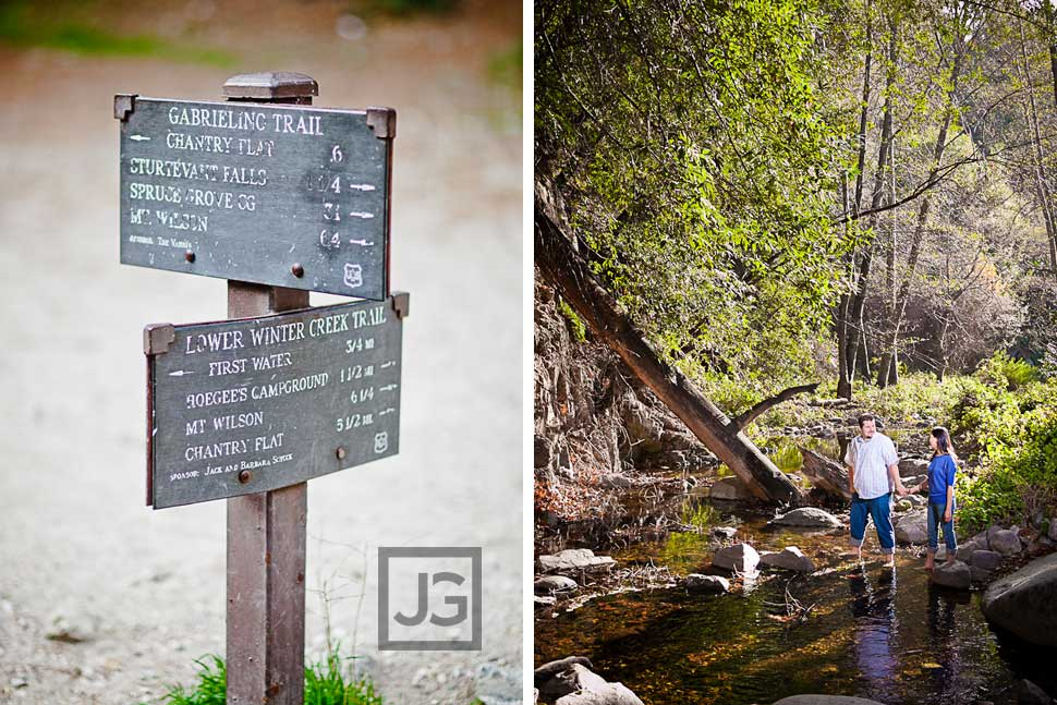 Gabrielino Trail Engagement Photography