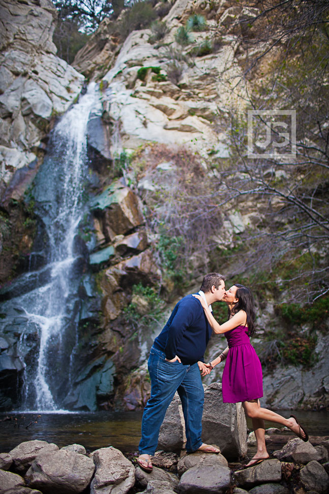 Chantry Flat Pasadena Engagement Photography Hannah