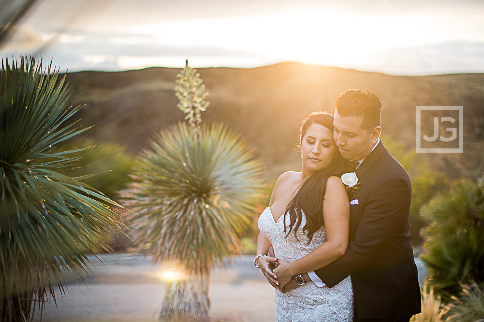 Hummingbird Nest Ranch Wedding Photo