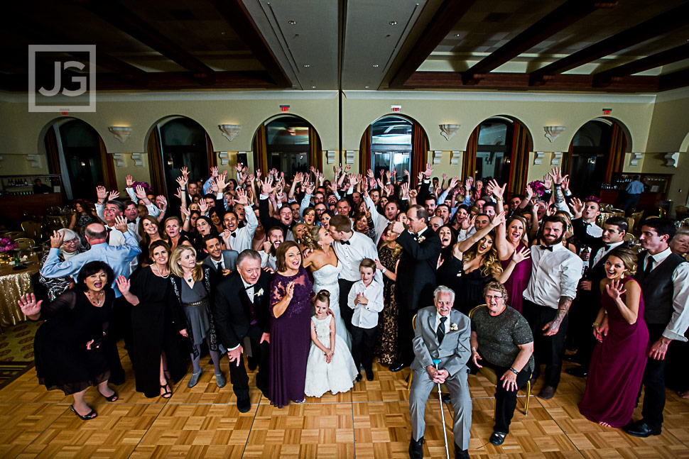 Whole Wedding Photo with all the guests