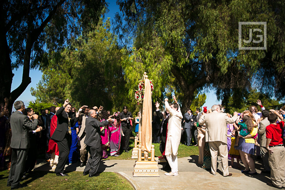 Indian wedding photography baraat