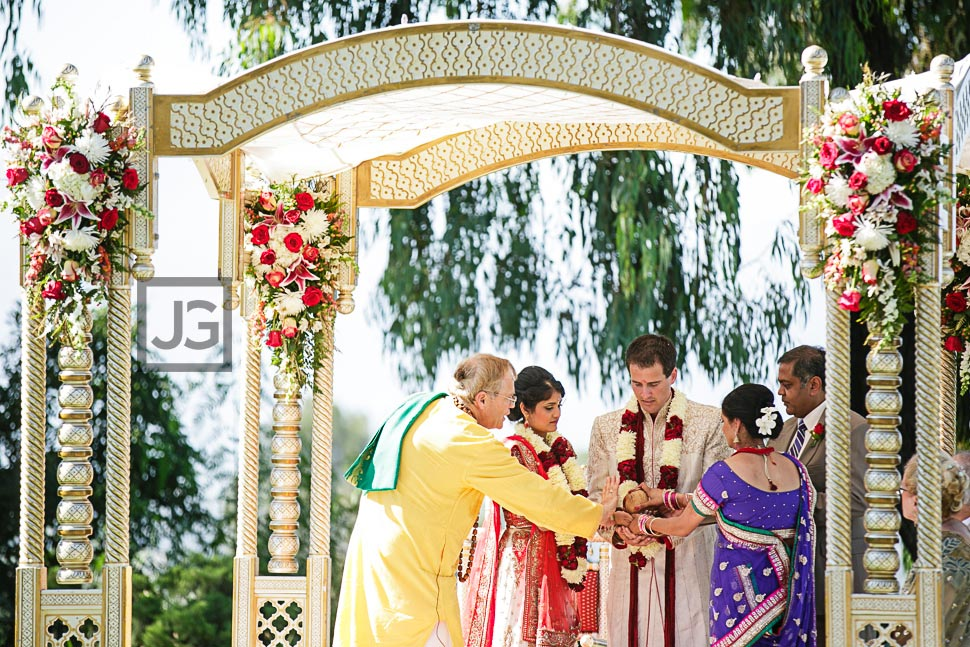 Indian Wedding Ceremony at Pacific Palms