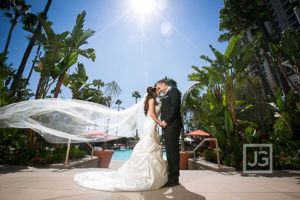 Fashion Island Hotel Wedding Photography, Newport Beach | Atousa & Rusteen