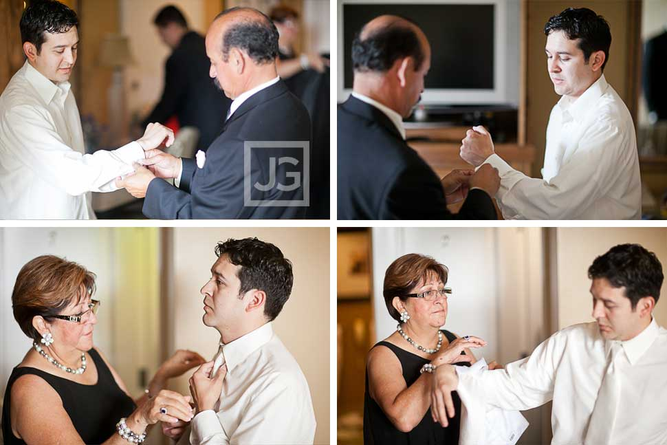 Westlake Village Inn Wedding Preparation