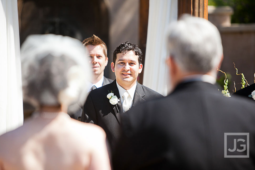 Westlake Village Inn Wedding Ceremony