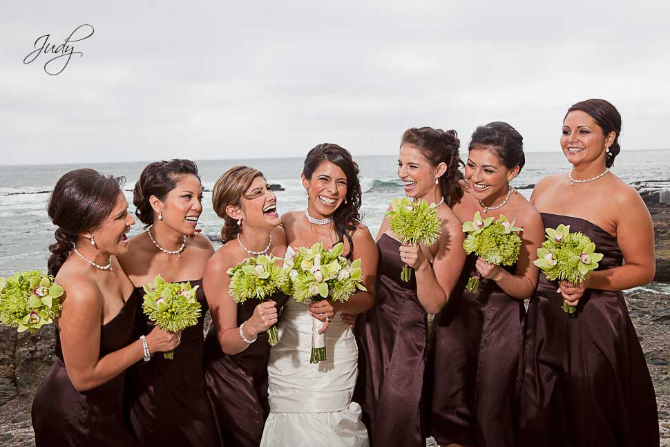 Laguna Beach Wedding Party Photos