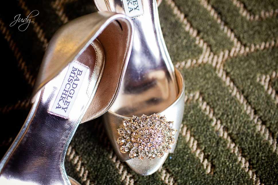 Huntington Beach Hyatt Wedding Shoes