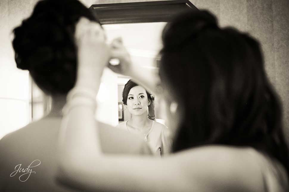 Huntington Beach Hyatt Wedding Preparation