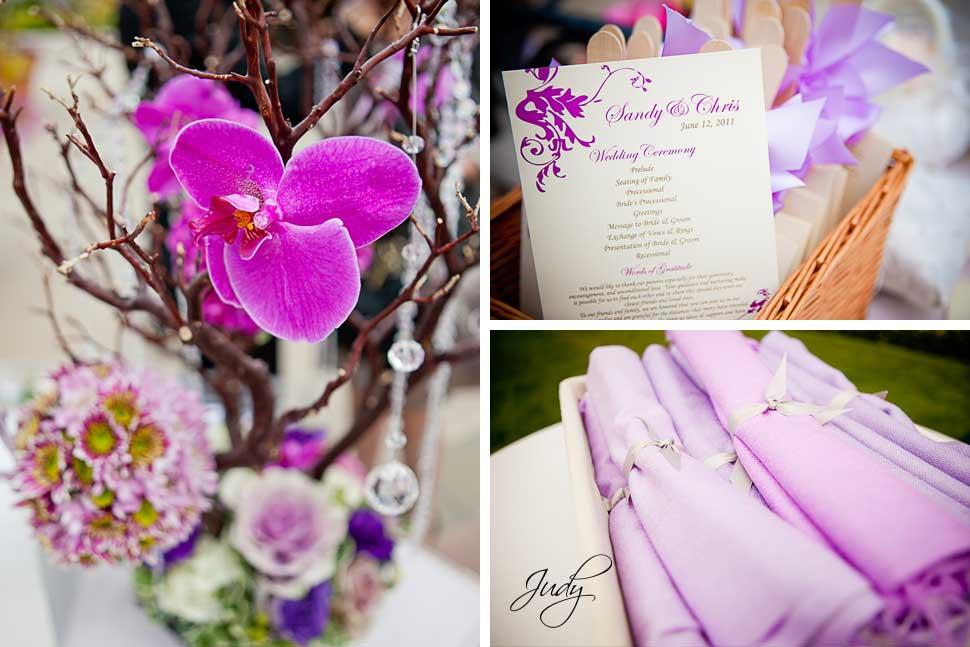 Huntington Hyatt Wedding Ceremony Details