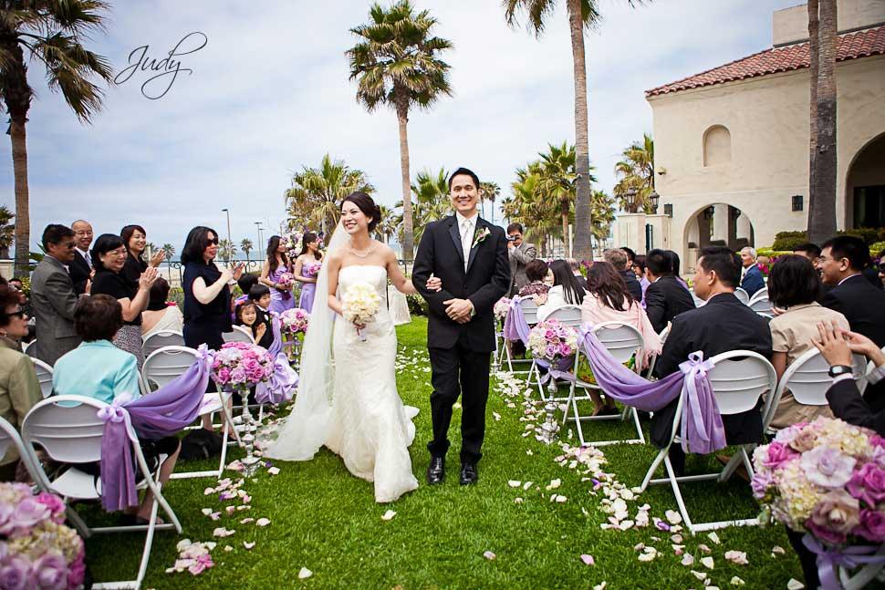Huntington Hyatt Wedding Ceremony