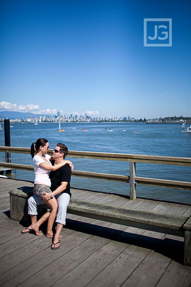 Vancouver Engagement Photography Jericho Beach