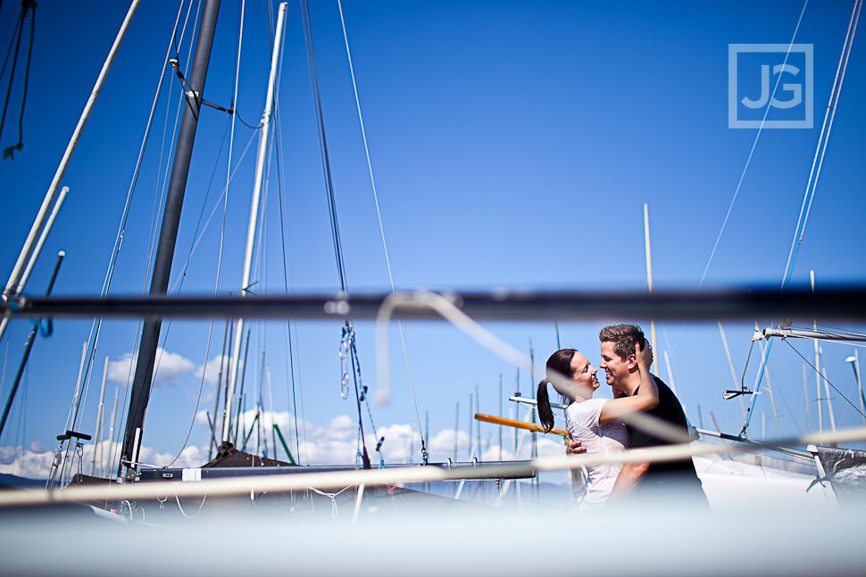 Vancouver Engagement Photography Jericho Sailing Centre