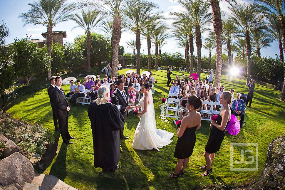 Jackalope Ranch Wedding Ceremony Palm Springs