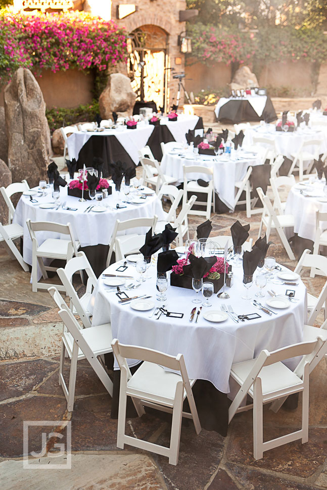 Jackalope Ranch Wedding Reception Tables