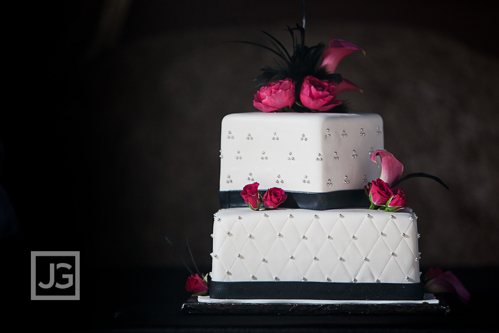 Jackalope Ranch Wedding Reception cake