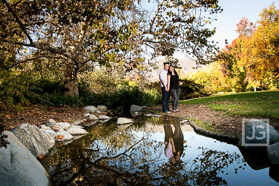 Engagement Photography at the LA Arboretum