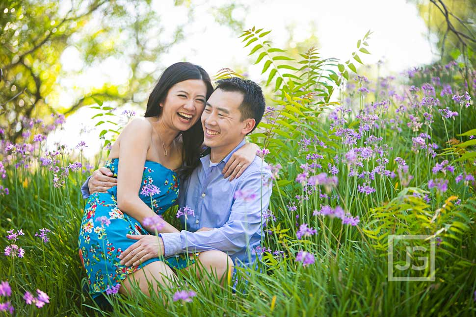 Engagement Photos Los Angeles Arboretum