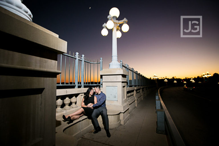 LA Arboretum Engagement Photography, Los Angeles County