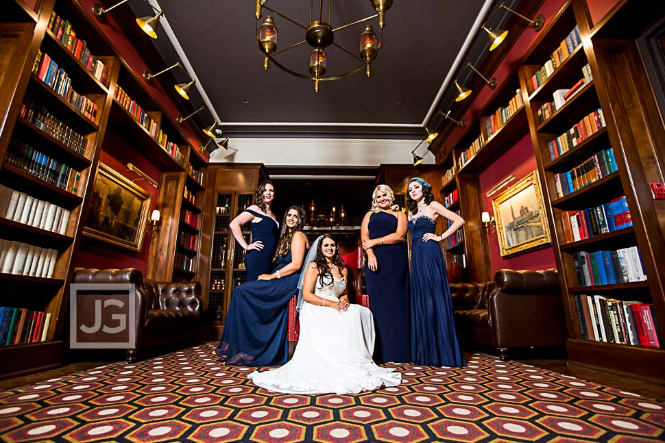 Athletic Club Bridal Party