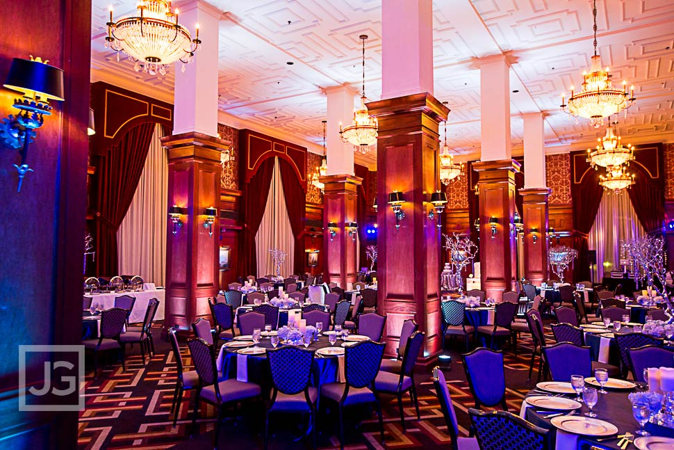 Los Angeles Athletic Club Wedding Reception