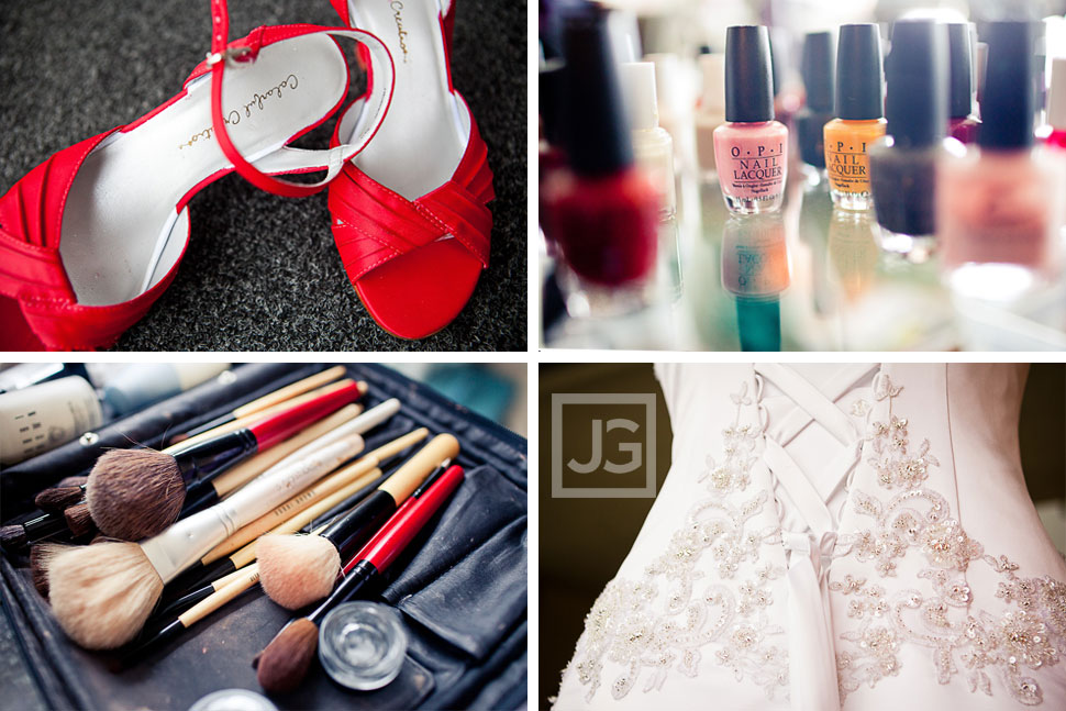 La Jolla Wedding Preparation