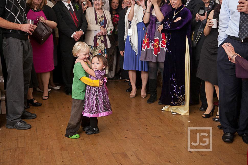 La Jolla Cove Bridge Club Wedding Reception