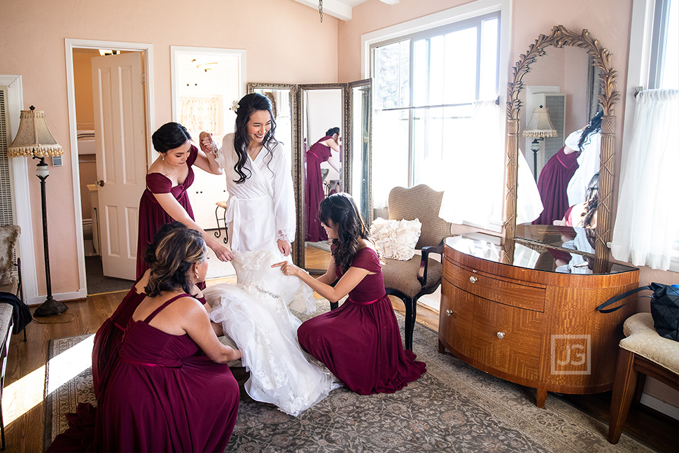 La Venta Inn Bridal Ready Room