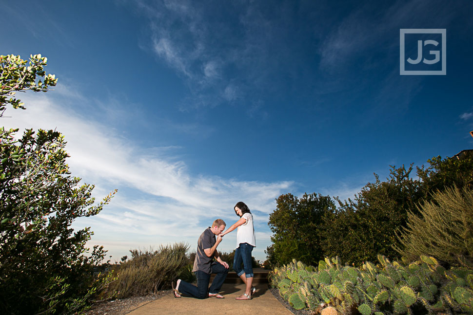 Laguna Beach Park Engagement Photos