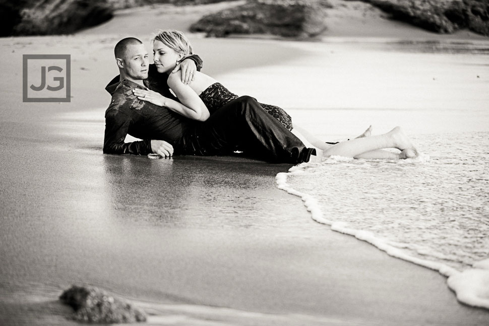 Sexy Beach Engagement Photos