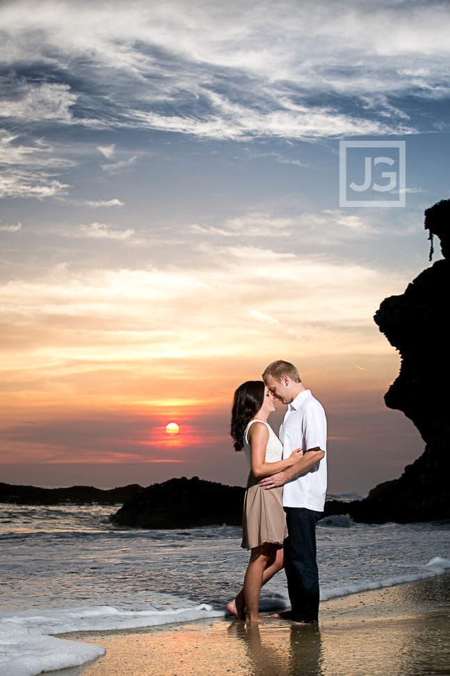 Laguna Beach Engagement Photography Thousand Steps | Brittany + Kirk