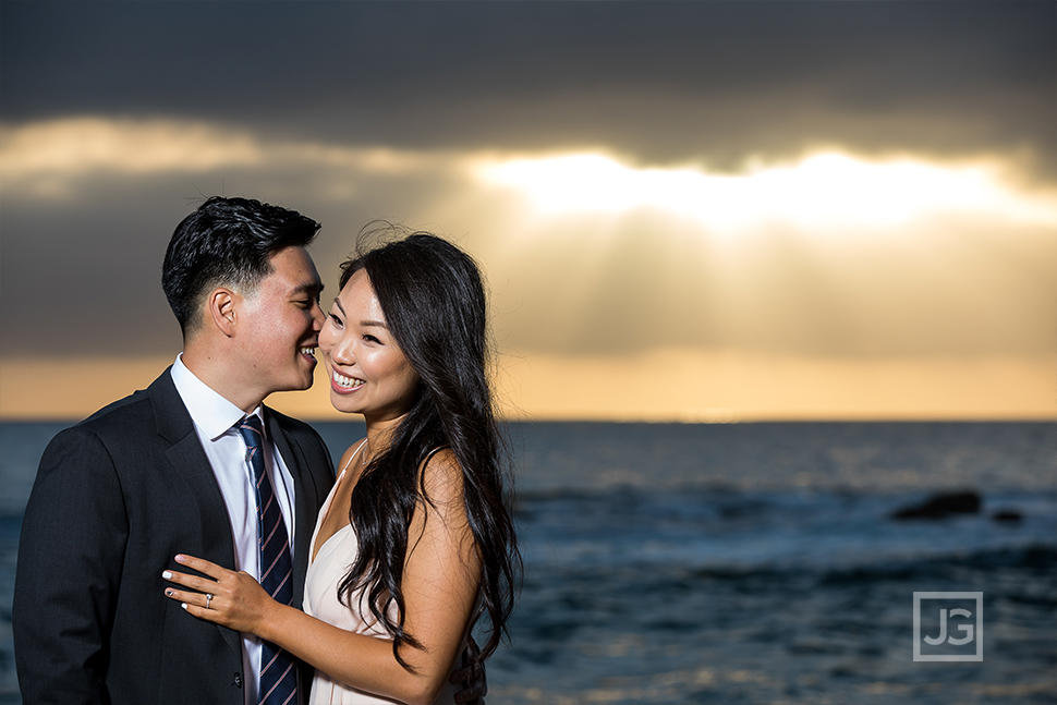 Laguna Beach Engagement Photography Sunset