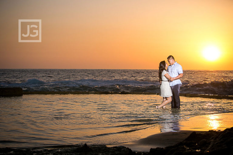 Laguna Beach Engagement Photos, Irvine Fields | Renee and Jon