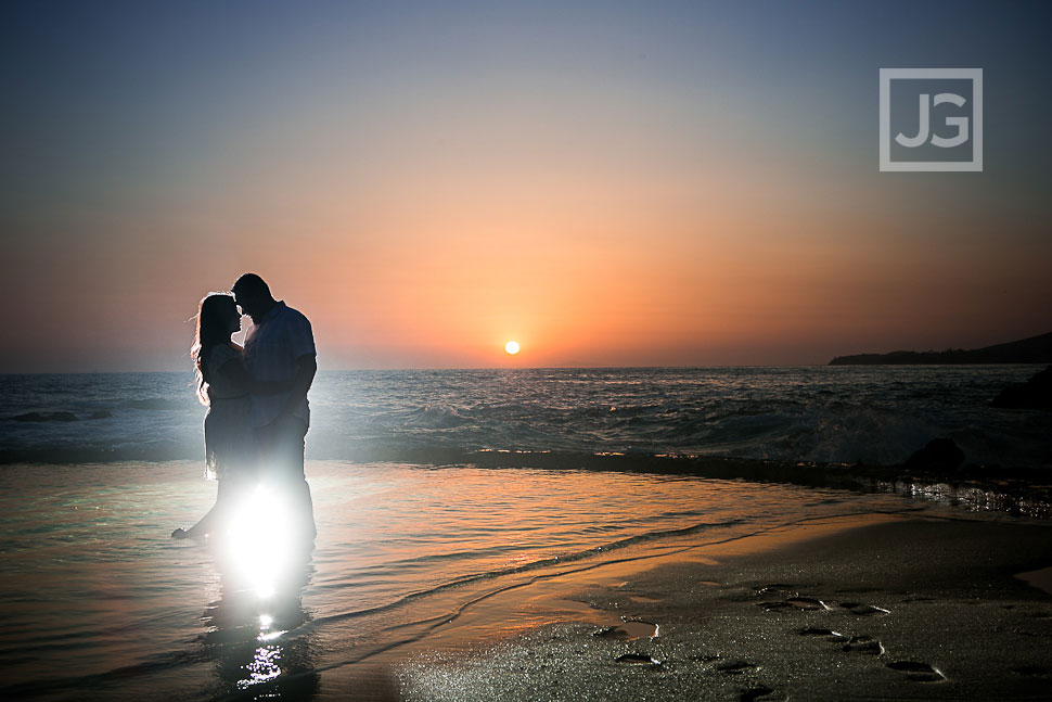 Laguna Beach Sunset Engagement Photography