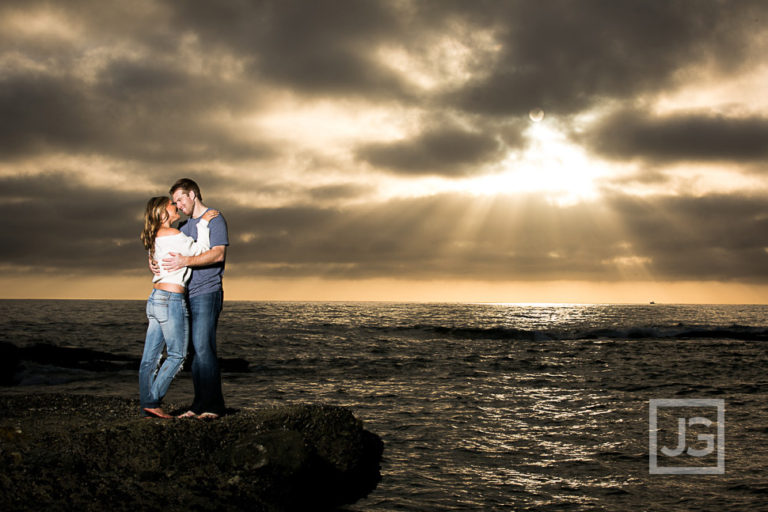 Laguna Beach Engagement Photos, Orange County  | Ashley & Matt